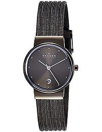 Skagen Ancher Analog Grey Dial Women's Watch - 355SMM1I