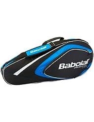 Babolat - Sac badminton x4 club - Sac de badminton - Bleu moyen - Taille Unique