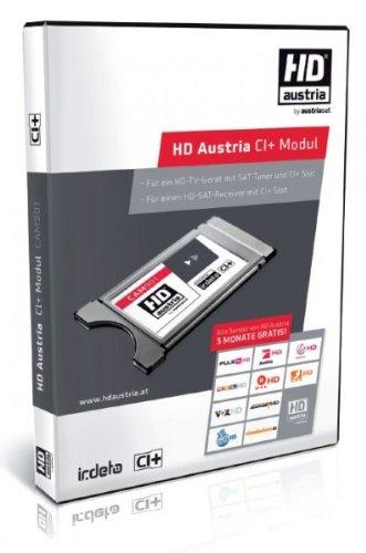 Original HD Austria CI+ Irdeto ORF Modul inkl. 1 Monat HD Austria Gratis bei neuer ORF Karte