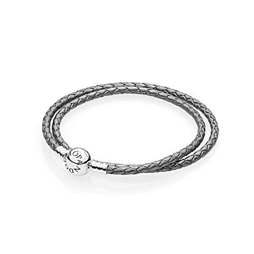 2c3fd2707746ac Pandora Bracciali corda Donna argento - Confronta prezzi.