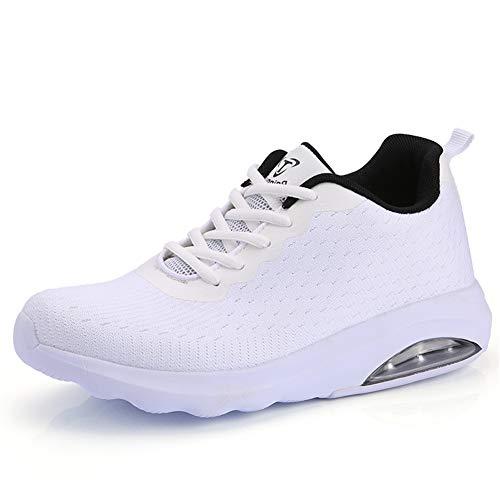 Fexkean Herren Damen Sneaker Laufschuhe Sportschuhe Air Leicht WalkingSchuhe Running Turnschuhe Shoes(B33WH41)