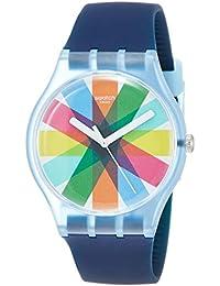 Swatch Reloj Analógico para Hombre de Cuarzo con Correa en Silicona SUON133
