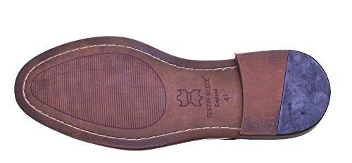 Justin Reece , Chaussures de ville à lacets pour homme Brown FA