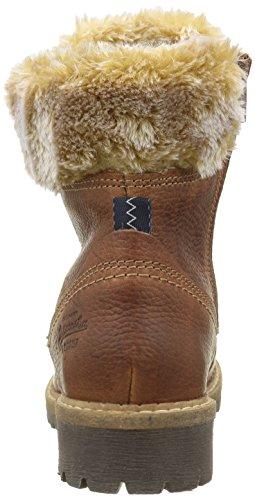 Gaastra Lucia High Tmb Fur, Bottes courtes avec doublure chaude femme Beige - Beige (2400 Cognac)