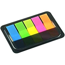 Cosanter Notas Recordatorias Estilo de Extracto 80 X 55 MM Pack de 5 Adhesivas Multicolor