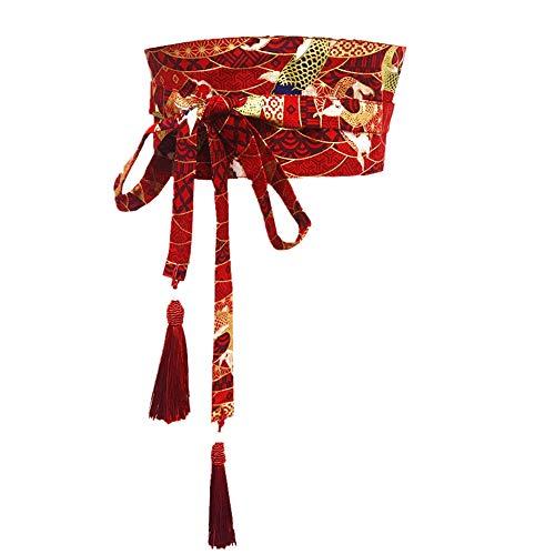 Fancy Pumpkin Kimono Giapponese Yukata Obi con Cinturino Nappa Harajuku Cinturino V9