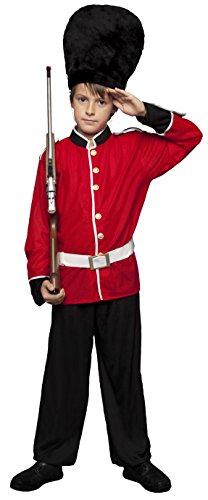 Disfraces BT - Disfraz guardia inglesa niño talla 7-9 años (Kostüm Ingleses)