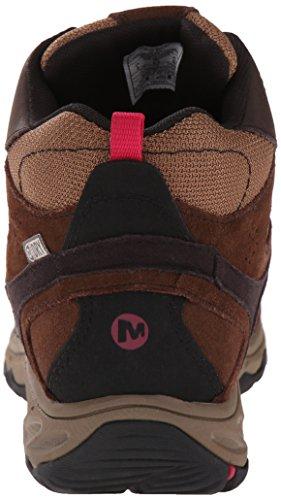 MerrellKimsey Mid Wtpf - Scarpe Primi Passi donna Marrone (Marrone (Dark Brown))