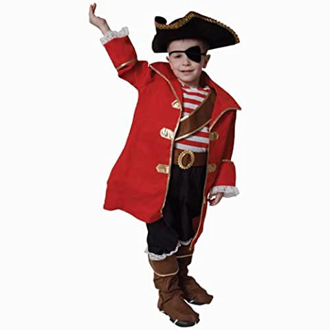 Costumes Deluxe Pirate Eye Patch - Dress Up America - 204-L - Déguisement