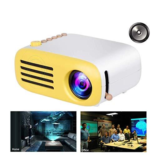 COOYT Proiettore, Mini Proiettore Portatile, Videoproiettore LCD, Proiettore da Tasca LED per Bambini