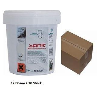 12 St. Sanit Wasserkastenwürfel á 10 St. für Geberit, TECE u.a.
