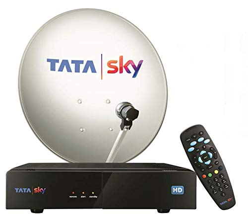 Tata Sky HD Box with One Month Hindi Starter Pack & Rs 7000 Voucher Free...