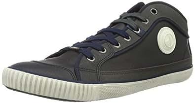 Pepe Jeans Industry Basic, Baskets Basses Homme, Bleu-Blau (Marine 585), 46 EU