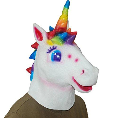 en Pferd Kopf Maske Kostüm für Maskerade-Parteien Horror Cosplay (Pferd) ()