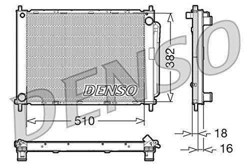 Preisvergleich Produktbild DENSO DRM23100 Kühlmodul