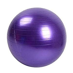 Ruiting Yoga Kugel Fitness Trainings Gleichgewicht Yoga Klasse Gymnastikball Kern Gymball PVC 45cm / 17.7inch Lila Sport-Produkte