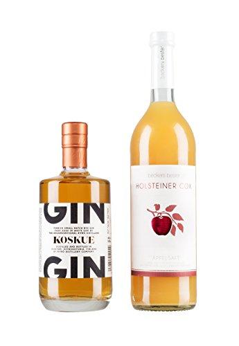 Kyrö Koskue Barrel Aged Gin (mit Holsteiner Cox Apfelsaft)