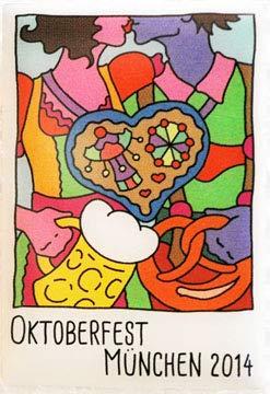 Beste Auswahl Oktoberfest Plakatmotiv 2014