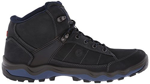 Ecco ECCO ULTERRA MEN'S, Scarpe sportive outdoor uomo Nero(Black/Denim Blue 50608)