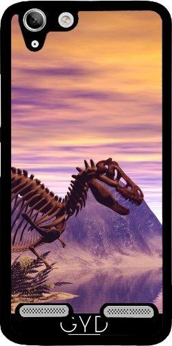 DesignedByIndependentArtists Hülle für Lenovo K5 - Dinosaurier-Skelett by nicky2342