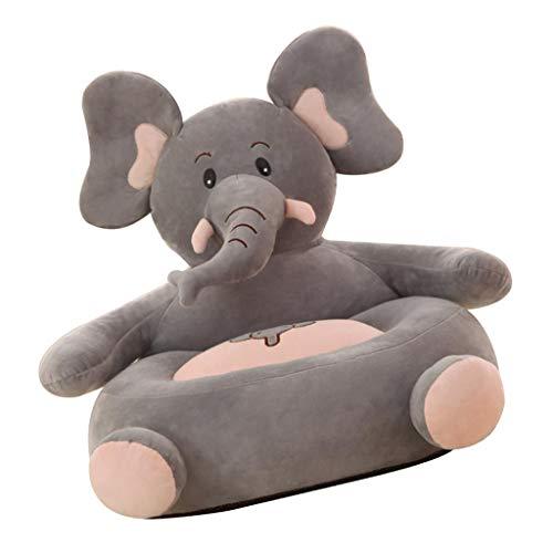 SM SunniMix Karikatur Sitzsack Hülle Sitzsackabdeckung Sitzsackhülle Kinder Sofa Bezug - Elefant