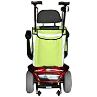 HIGH VISIBILITY MOBILITY SCOOTER BAG- WHEELCHAIR BAG - WALKING STICK CARRIER by Kozee Komforts