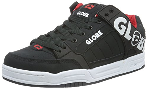 Globe Herren Tilt Sneakers Schwarz (night/red)