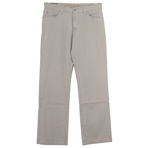 Gabardine Stretch Hose (Camel Active, Woodstock, Herren Jeans Hose, Gabardine Stretch, aluminiumgrau, W 35 L 32 [19507])