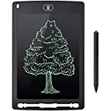 سبورة رقمية الكترونية للرسم والكتابة بشاشة ال سي دي 8.5 انش مع قلم ومسح ذاتي بضغطة واحده لون أسود