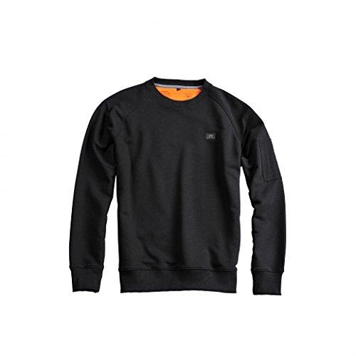 Alpha Industries Herren Sweatshirt Black
