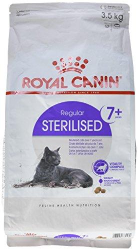 Produktbild Royal Canin Katzenfutter Sterilised + 7,  3, 5 kg,  1er Pack (1 x 3.5 kg)
