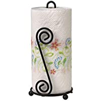 Craftland Wrought Iron Kitchen Tissue Paper roll Holder/Dispenser for Kitchen and Dining Table-S2