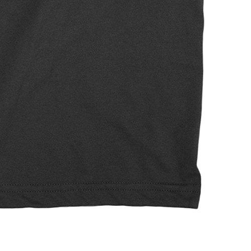Herren-T-shirt The Strokes - America Texture Logo Rock 100% baumwolle LaMAGLIERIA Dunkelgrau