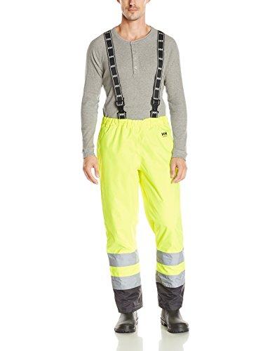 Helly Hansen Workwear Warnschutz Winter-Latzhose Alta Insulated CL2 wasserdichte isolierte Regen-Arbeitshose 369 XXL, 70445 - Isolierte Arbeit Hosen