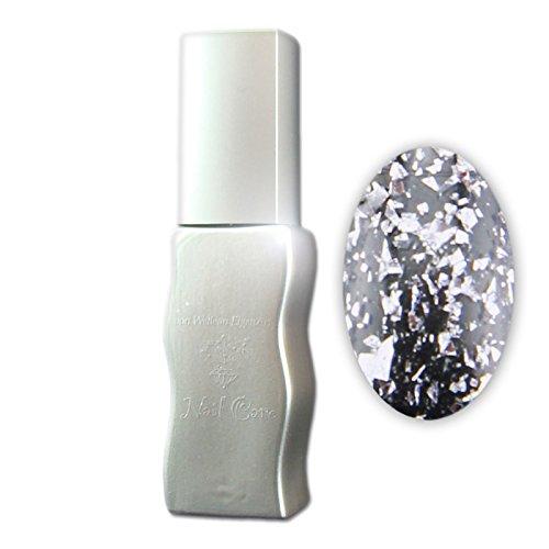 Eigenart UV Vernis à Ongles/Gel Polish – Silver Chips (Transparent avec des particules)