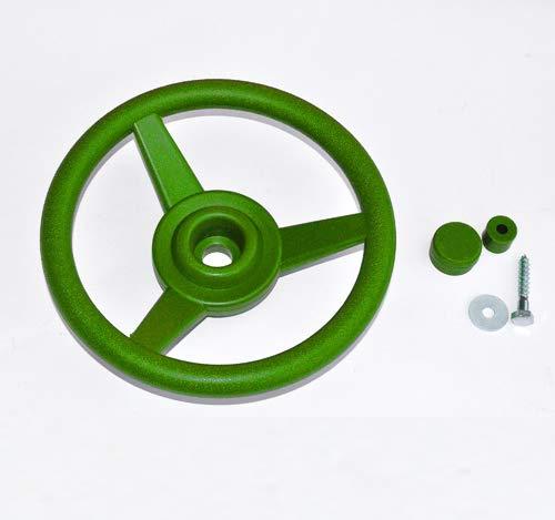GK Lenkrad/Steuerrad für Spielanlagen, apfelgrün
