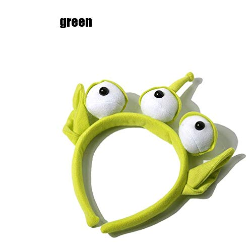 1 stücke Neuheit Neue Toy Story Alien Ohren KOSTÜM Plüsch Stirnband Erwachsene ODER Kind Party Cosplay - Toy Story Aliens Kostüm