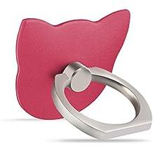 soporte del sostenedor del teléfono del anillo de dedo de noche perezoso palo de hebilla de cinturón ( Color : #1 )