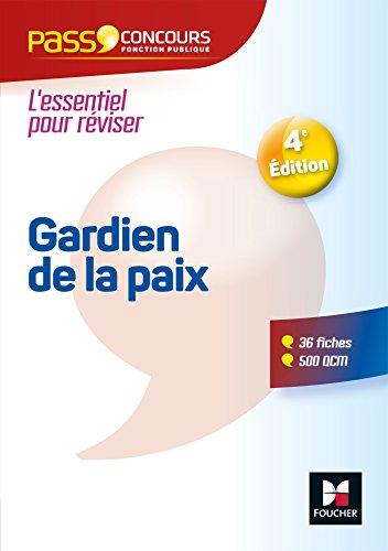 Pass'Concours - Gardien de la paix Cat. B - Entrainement et révision par Dominique Brisset, Valérie Beal, Véronique Saunier, Anne Ducastel