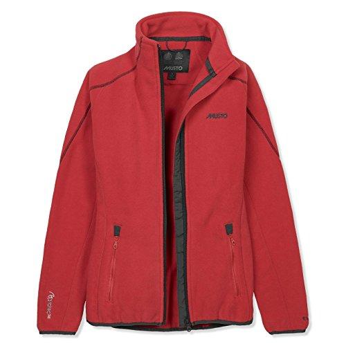 2017 Musto Women's Essential Fleece Jacket TRUE RED SE0127 Sizes- - Ladies 8