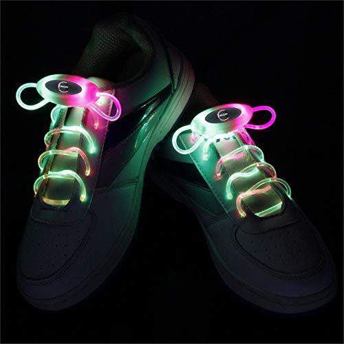 WYT YWXLight 1 Paar 2 W 80 cm Glow Schnürsenkel LED Sport Schnürsenkel Knicklicht Neon Luminous RGB (Kommerzielle Led-weihnachtsbeleuchtung)