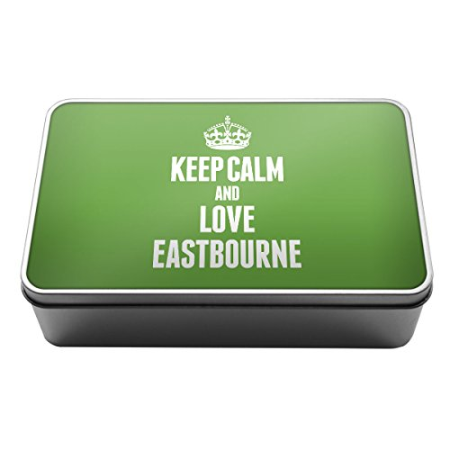 green-keep-calm-and-love-aegon-scatola-di-latta-di-metallo-0227