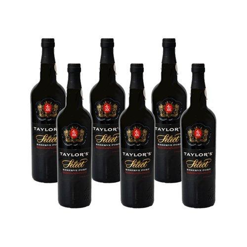 6 Flaschen Taylor's Port Select Reserve Ruby, Dessertwein, Portwein, 6 x 0,75 Liter