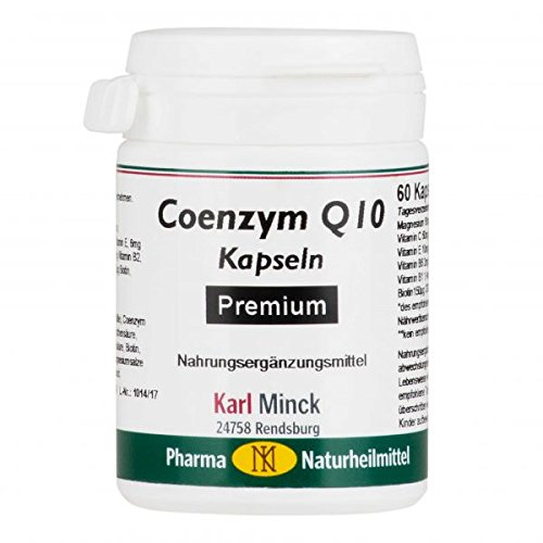 Coenzym Q10 Kapseln Premium 60 Stück Karl Minck