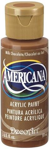 DecoArt Americana Acrylic Multi-Purpose Paint, Milk Chocolate