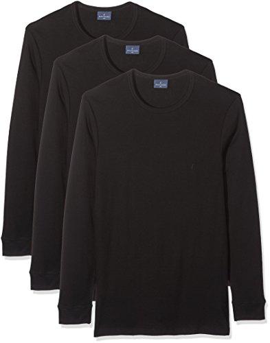 513, Camiseta para Hombre, Negro (Nero Nero), X-Large (Tallas De Fabricante:6)(Pack de 3) Navigare