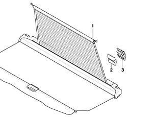 BMW Genuine Boot Luggage Roller Blind Support (51 47 9 149 454)