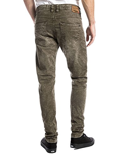 Timezone Herren Hose Grün (jungle green 4209)
