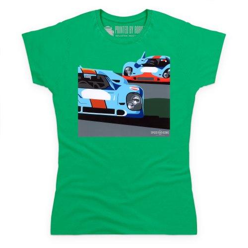 Speed Icons 917 LM T-Shirt, Damen Keltisch-Grn