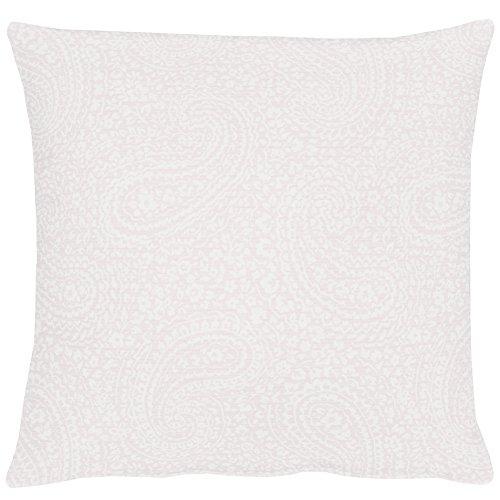 APELT 7907 39X39 80 Kissen gefüllt, Polyester, weiß